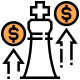 Premium Business Money Market Icon