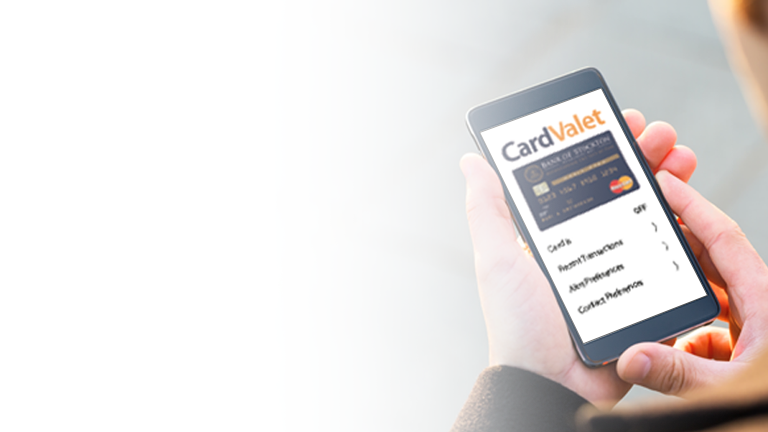 CardValet Debit card protection